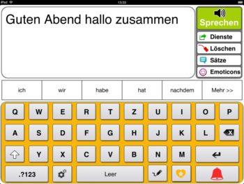 Prediction Scannermodus Tastatur