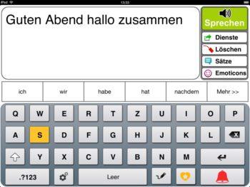 Prediction Scannermodus Tastatur Taste