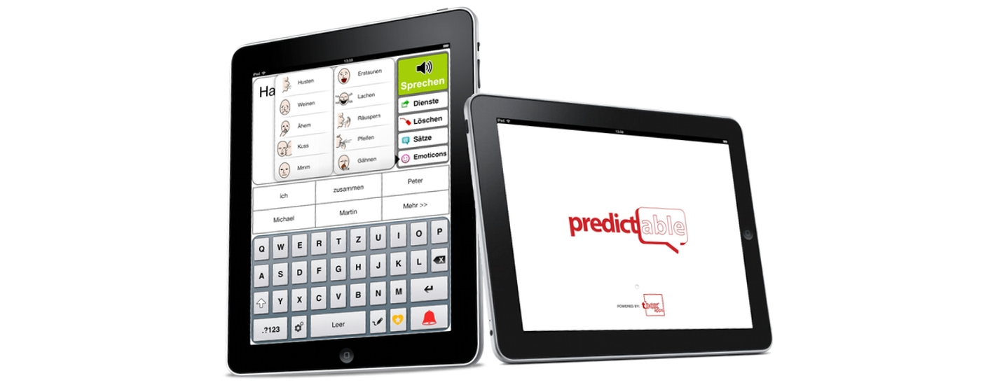 predictable und iPad als Kommunikationsgerät